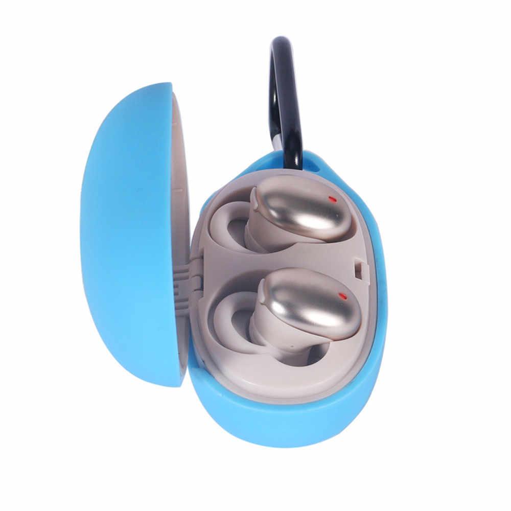 Silikonowe słuchawki Case pełna etui na Xiaomi 1 więcej stylowy prawda bezprzewodowe słuchawki douszne powłoka ochronna futerał torba