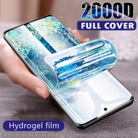 3-1Pcs Voor Samsung Galaxy A10 A20 A30 A40 A50 A51 A52 A70 A71 A72 Screen Protector S21 ultra S20 Fe S10 S9 S8 Plus Hydrogel Film