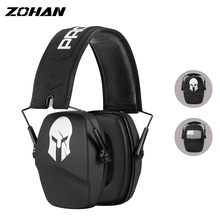 ZOHAN Ear Protection Shooting Noise Canceling Ear Muffs for Hunting Outdoor Sport Foldable Adjustable Lighter Protective Passive