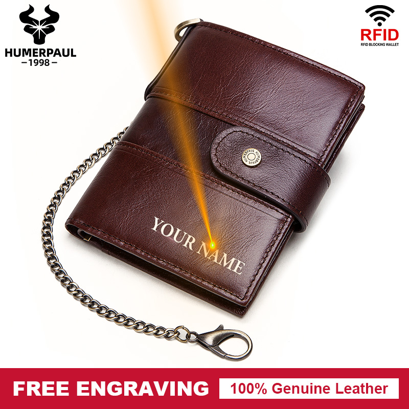 Free Engraving Men's Wallet Leather Your Name Gift Coin Pocket Male Cudan Portomonee Small Coin Purse Fashion Male Money Pocket