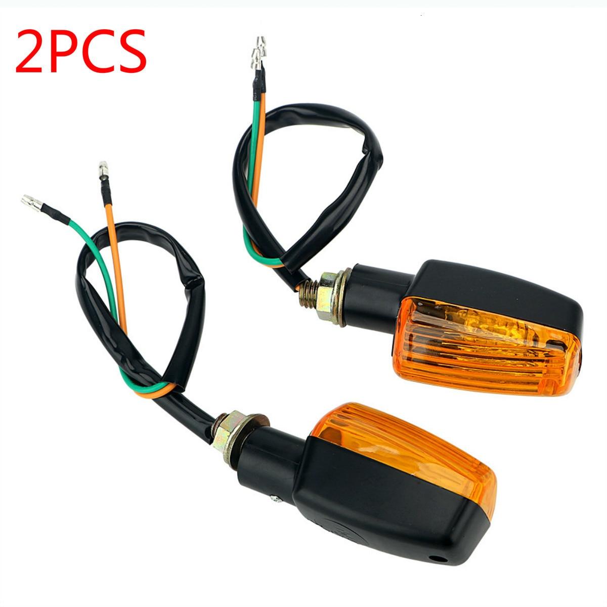 1 Pair Motorcycle Flasher Blub Turn Signal Lamp Universal DC 12V Motorbike Indicator Light Amber Blinker Bulb 8W