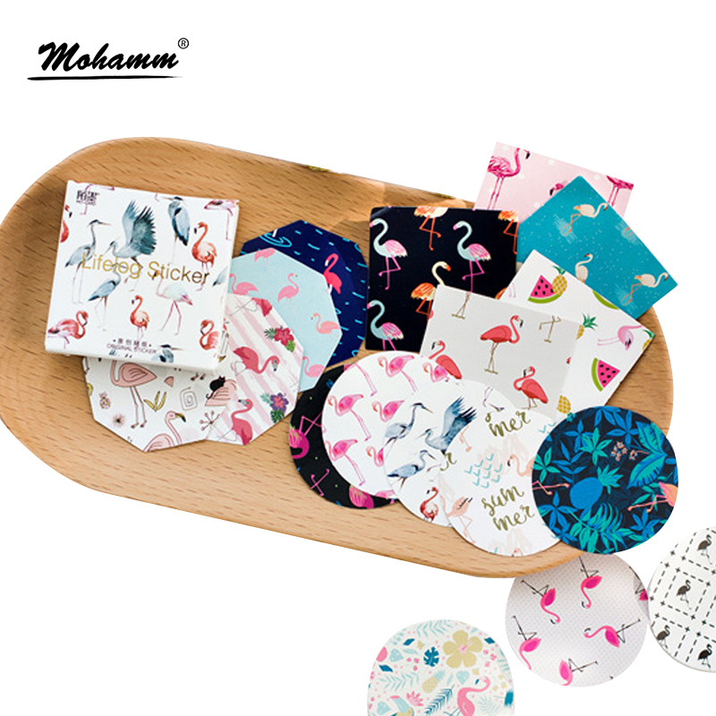 45 Pcs/lot Cute Flamingo Mini Paper Sticker Decoration Diy Ablum Diary Scrapbooking Label Sticker Kawaii Stationery