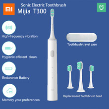 Original Xiaomi Mijia T300 Sonic Electric Toothbrush Mi Smart Electric Toothbrush 25 day High Frequency Vibration Magnetic Motor