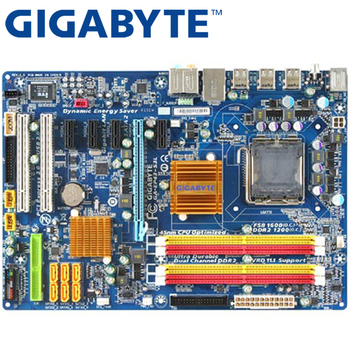 GIGABYTE GA-EP43-S3L Desktop Motherboard P43 Socket LGA 775 For Core 2 Pentium D DDR2 16G ATX Original Used