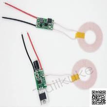 Entrada de fuente de alimentación de 12V, salida de 12V 1a, fuente de alimentación inalámbrica, carga inalámbrica, módulo de transmisión inalámbrica, XKT801 26