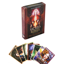 Sacred Rebels Oracle Deck Tarot Deck Cards Game Green Witch Tarot Table Card Board Games Party Playing Cards Deck Family Games карты оракул u s games systems oracle cards dream