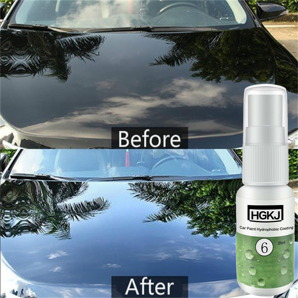 20ML HGKJ-6 Hydrophobic Liquid Coating Ceramic Paint Anti-scratch Replacement Scratch Repair Ceramic Polishing Fluid