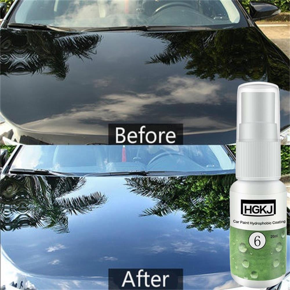 20ML HGKJ-6 Hydrophobic Liquid Coating Ceramic Paint Anti-scratch Replacement Scratch Repair Ceramic Polishing Fluid