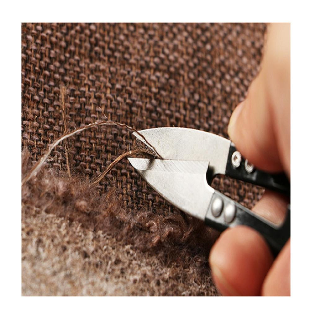 1Pcs Trimming Sewing Scissors Stainless Steel U Shape Tailor Clippers DIY Yarn Tailor Cross Stitch Craft Home Embroidery Tool in Electric Scissors from Tools