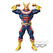 Tronzo 28cm Original Banpresto Grandista All Might Resolution of Soldiers My Hero Academia PVC Action Figure Model Doll Toys
