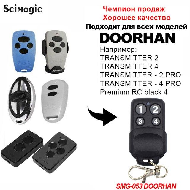 100 pièces DOORHAN transmetter2 transmetter4 433MHz code roulant Doorhan télécommande garage commande 2020 nouveau