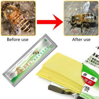 Profesjonalny akarycyd przeciwko pszczoła roztocza taśmy pszczelarstwo medycyny pszczoła Varroa roztocza zabójca i kontroli pszczelarstwo gospodarstwa leków tanie i dobre opinie Hornets JJ20824-00B