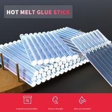10 Pcs 7/11mm Hot Melt Glue Stick For Heat Pistol Glue 7x100mm High Viscosity Glue Stick Repair Tool Kit DIY Hand Tool