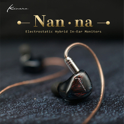 KINERA Nan·na Flagship SONION Dual Electrostatic+BA+Dynamic Hybrid 4 Driver Units HiFi In Ear Earphones 0.78mm 2Pin Cable IEM