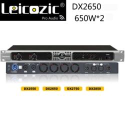 Leicozic DX2650 audio amplifier 1050w 4ohms power amps sound amplifier audio professional dj sound system d class amplificador