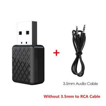 Mini stereo bluetooth σε rca usb 3.5mm jack για tv pc car kit wireless adapter