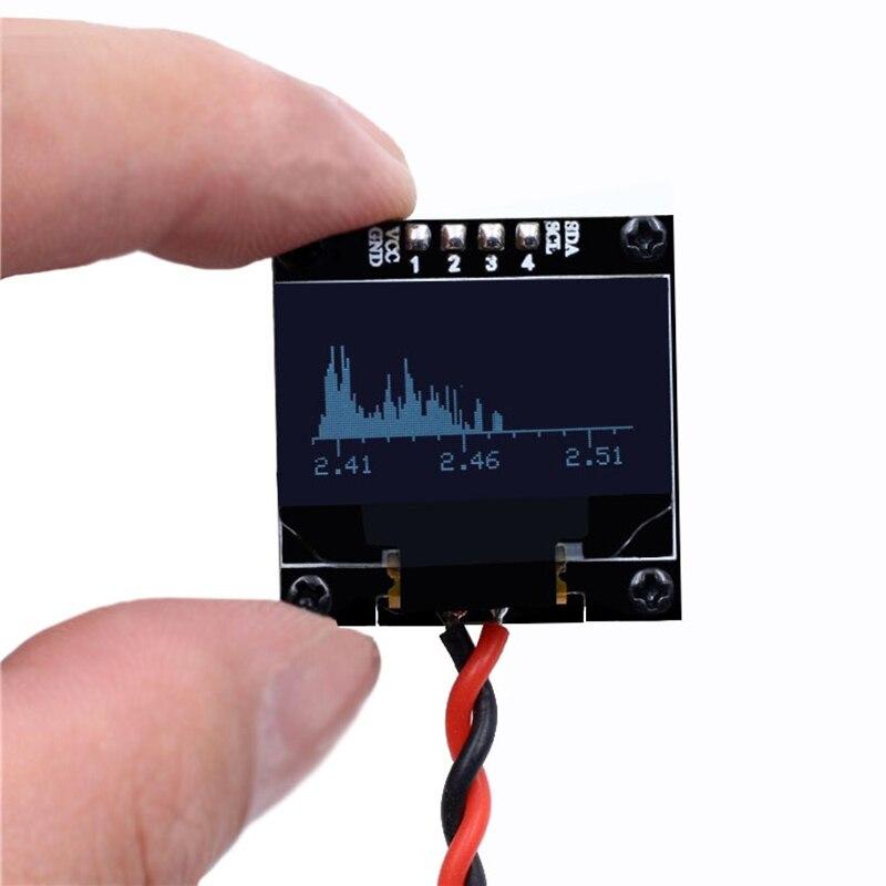 Мини OLED 2,4G музыкальный анализатор спектра MP3 PC усилитель аудио индикатор уровня Анализатор музыкального ритма