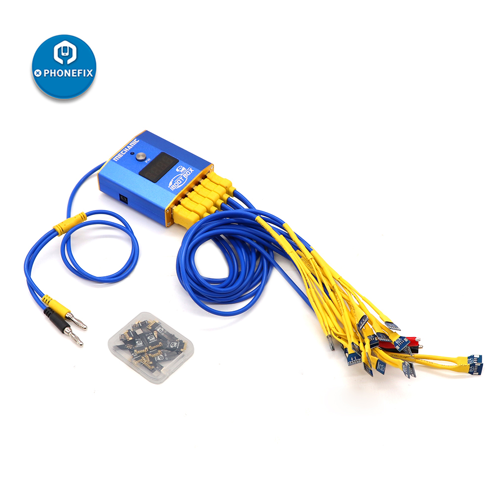 Image 5 - Mechanic iBoot Box Power Boot Kit for iPhone Android Motherboard DC Power Supply Cable Mobile Phone Battery Boot Repair CableHand Tool Sets   -