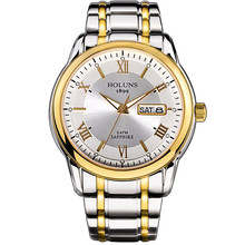 Holuns Relogio Masculino Volledige Rvs Heren Automatische Horloge Top Merk Luxe 5ATM Waterdichte Super Lichtgevende Dropshipping