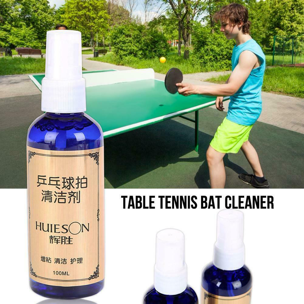 100ml Dust Remove Accessories Maintenance Liquid Care Paddle Blue Table Tennis Racket Mildew Proof Effective Cleaning Agent