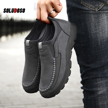 Men Casual Shoes Loafers Sneakers 2019 New Fashion Handmade Retro Leisure Zapatos Casuales Hombres