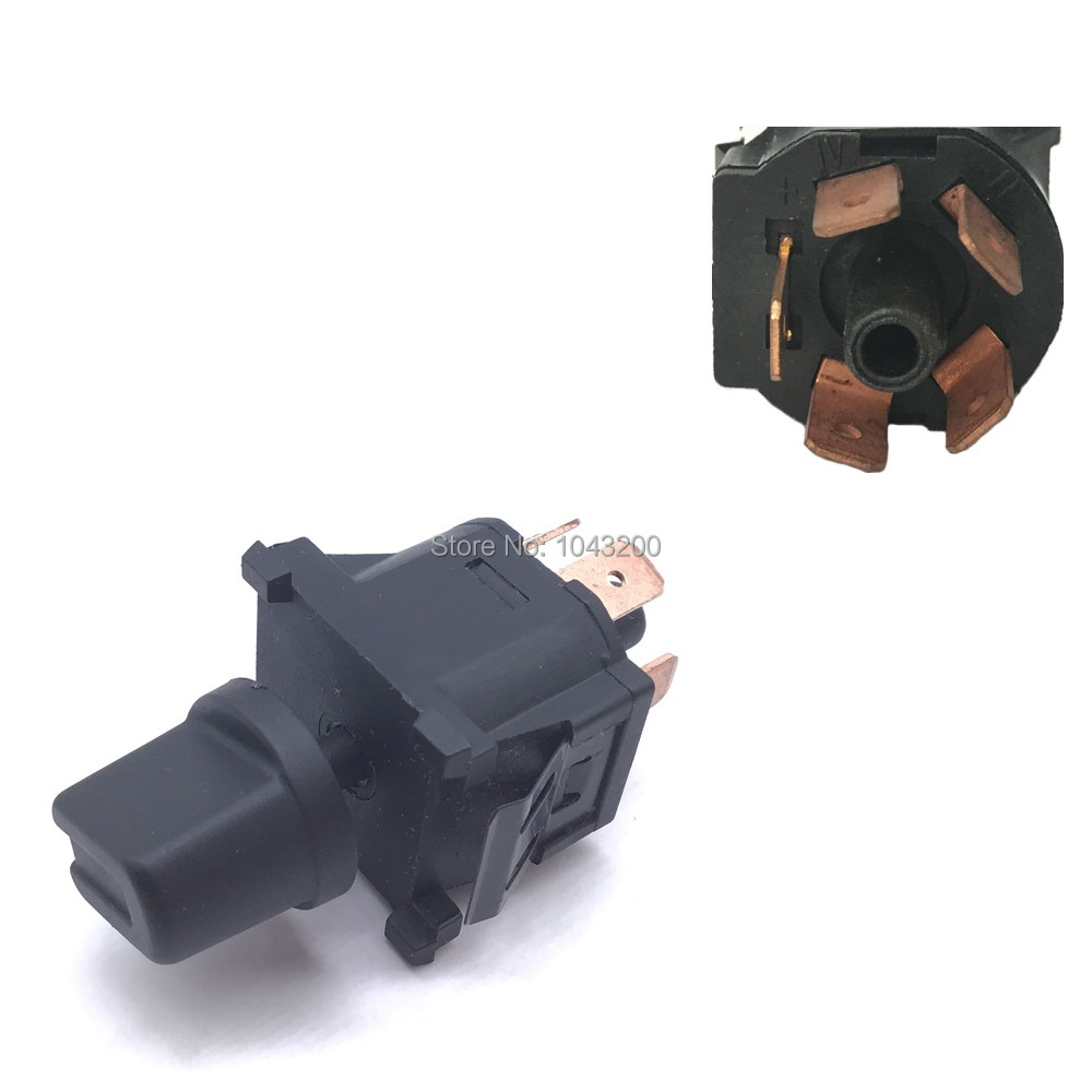 Fan Switch 0-<font><b>1</b></font>-<font><b>2</b></font>-3-4 Heater For Audi <font><b>80</b></font> Coupe VW Golf <font><b>1</b></font> <font><b>2</b></font> Cabrio Polo Scirocco t3 Climate Passat 321959511A, 191959511A Genuine image