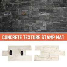 Садовый дом Декор Текстура стены пол формы полиуретановые формы для Бетон цемент штукатурка штампы модели-формы резиновые пресс-формы