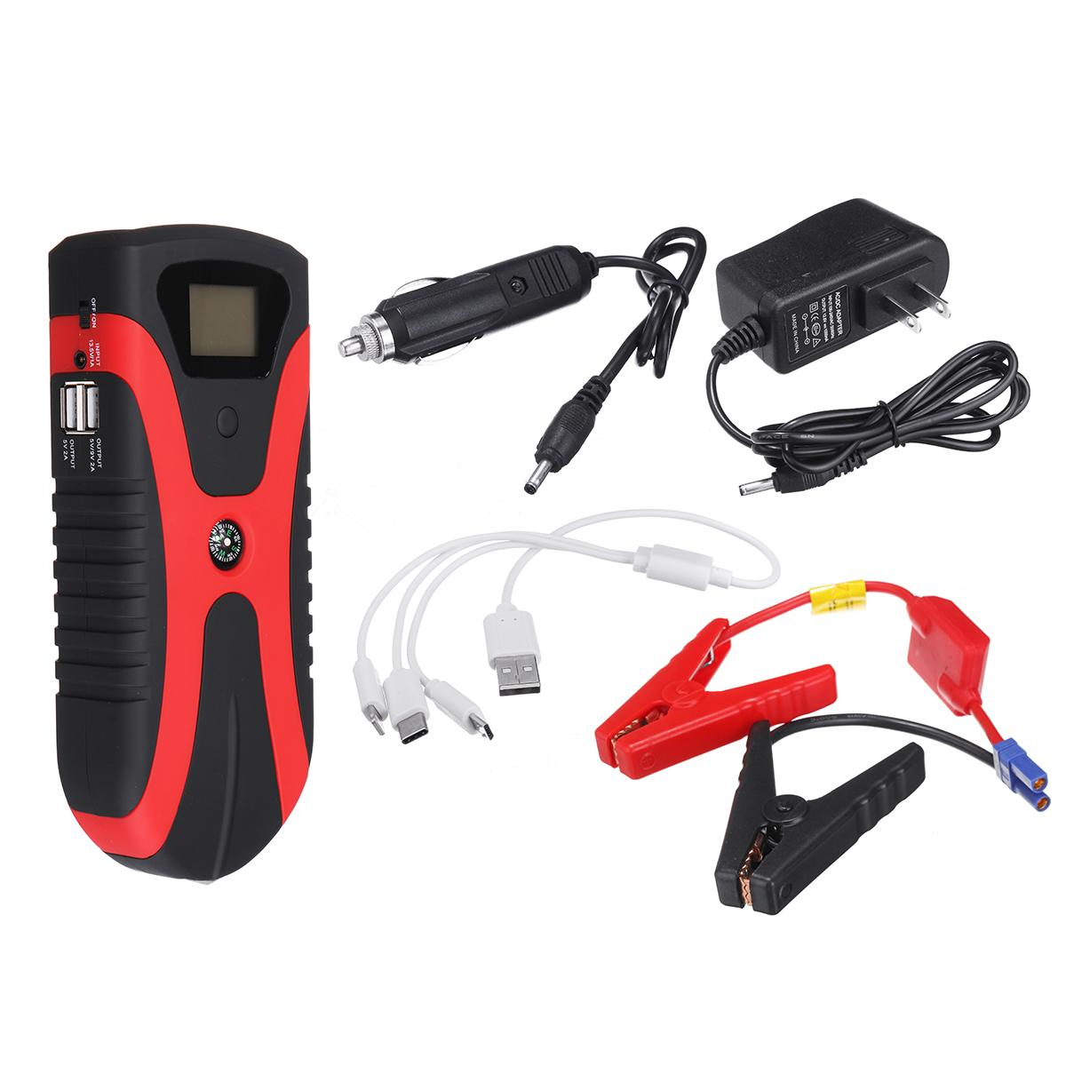 180A Tragbare Multi Funktion Power Auto Starthilfe Notfall Licht Tragbare Auto Batterie Booster Ladegerät Mit USB schnelle lade - 2