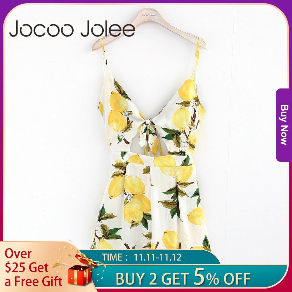 Jocoo Jolee Sexy Deep V Neck Women Jumpsuit Floral Print Lace up Summer Women Playsuit High Waist Romper Jumpsuit For Women 2018|women jumpsuit|jumpsuit floral printedjumpsuit floral - AliExpress