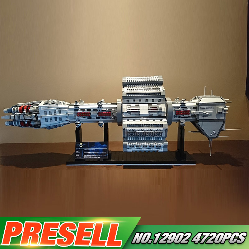 Star Toys Wars Compatible With Lepining MOC-12902 EAS Agamemnon Set Building Blocks Bricks Assembly Toys Kids Christmas Gifts