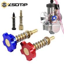 ZSDTRP Motorcycle Idle Air/Fuel Easy Adjusting Screw for PWK Carburetor