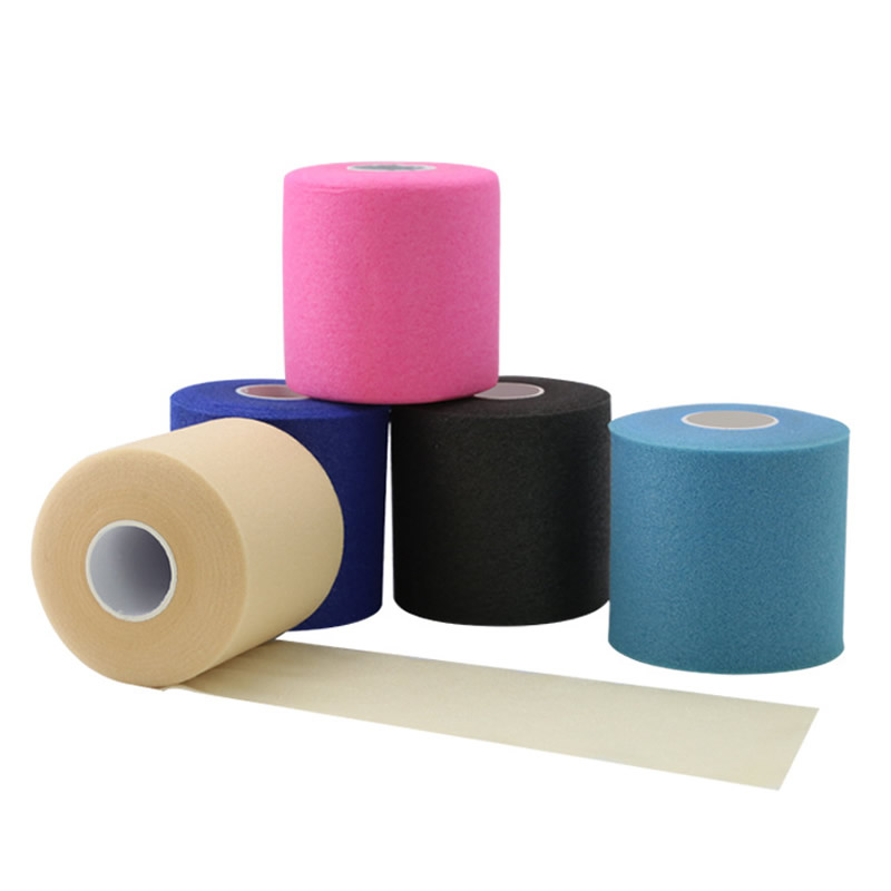 7cm*27m Sponge Bottoming Sports Tape Elastic Breathable Skin Membrane Bandage Reduce Allergy Discomfort Kinesiology Tape Partner
