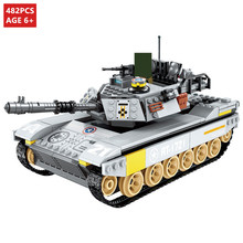 Helicopter Tank ARMY Building Blocks Sets Compatible LegoINGLs Technic Military Soldiers Bricks Educational Toys for Children yamala imperial redcoat army soldier gun collectible building blocks children gift toys compatible with legoingly army soldiers