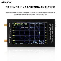 KKMOON NanoVNA-F V2 4.3 Inch IPS LCD Display Vector Network Analyzer S-A-A-2 Antenna Analyzer Short Wave HF VHF UHF Meter