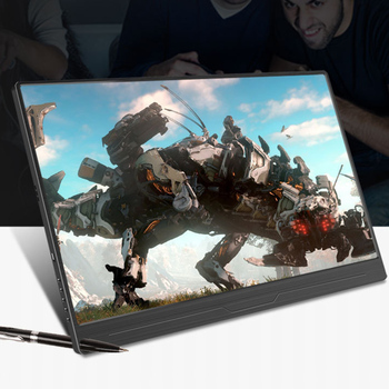 12.5 Inch 4K Portable Gaming Monitor For Ps4 Xbox Switch Ns Game Console Display Phone Computer NUC Expand LED Screen HDR 1