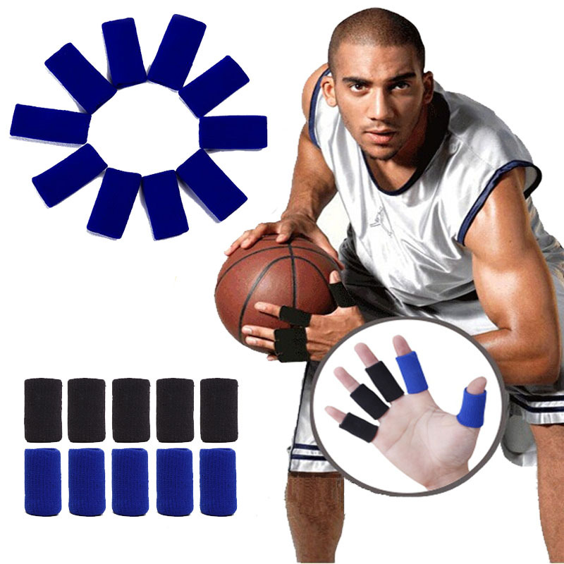 Basketball Finger Arthrosis Band Protect Splint Guard Bands Finger Protector Guard Support Stretchy Sports Aid Band Basketball