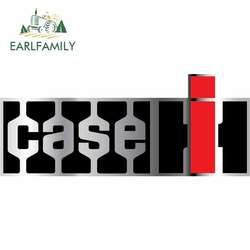 EARLFAMILY 13cm x 5.3cm for Case IH Tractor Agriculture Logo Car Stickers Vinyl JDM Bumper Trunk Truck Graphics DIY Fine Decal