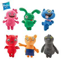 Hasbro Uglydolls Soft Short Plush Toy Monster Stuffed Animals PP Cotton Ugly Dolls Toys for Kids 16cm cheap TV Movie Character 3 years old Figure Statue Dinosaur Plush Nano Doll Unisex AWAY FIRE UGLrty Super Soft Short Plush