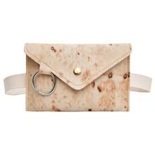 Женская уличная универсальная буррито сумки-портфель с молнией через плечо нагрудная сумка Новинка модная поясная сумка отличный подарок ...