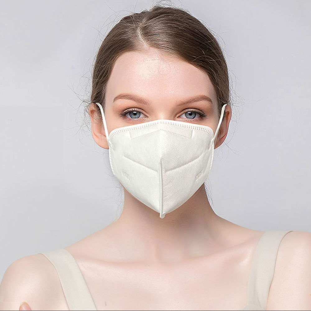 DHL Free Shipping CE Boxpacked N95 Adult Non Woven Mask Ffp2 Mouth Face Mask Masque KN95 95% Filtration PM 2.5 Mask