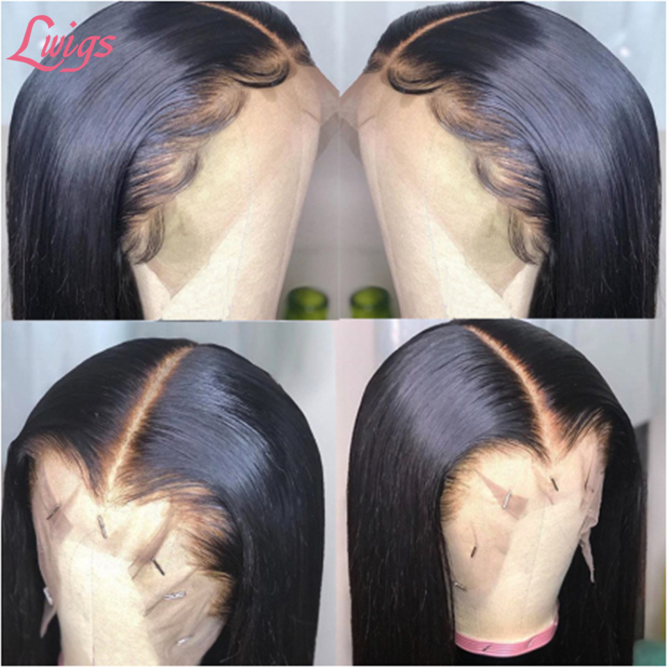 straight_lace_wig_middle_part_cheap