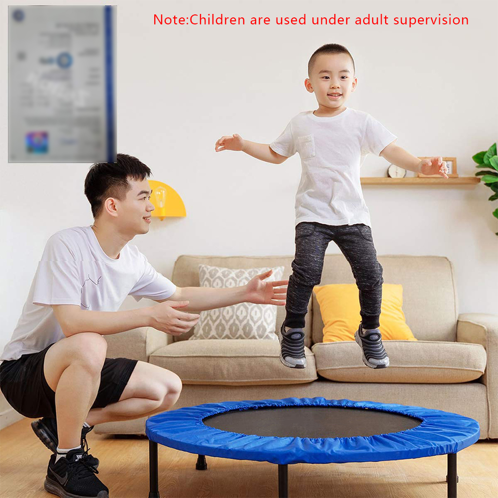 Trampoline Protective Cover Children'S Mini Trampoline Oxford Cloth Material Is Easy To Install Indoor And Outdoor Sports