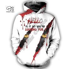 PLstar Cosmos Halloween terror horror awesome charming 3D Printed Hoodie/Sweatshirt/shirts Mens Womens handsome style-16
