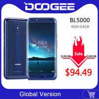 DOOGEE BL5000 Android 7,0 12V2A de carga rápida 5050mAh 5,5 FHD MTK6750T Octa Core 4GB RAM 64GB ROM Dual 13.0MP Cámara Smartphone