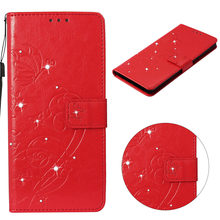 Diamond Magnetic Flip Wallet Leather Case For LG K8 K10 V30 2018 K30 Aristo 2 Cover For LG G7 ThinQ Stylo 3 4 Stylus 3 Q Stylus(China)