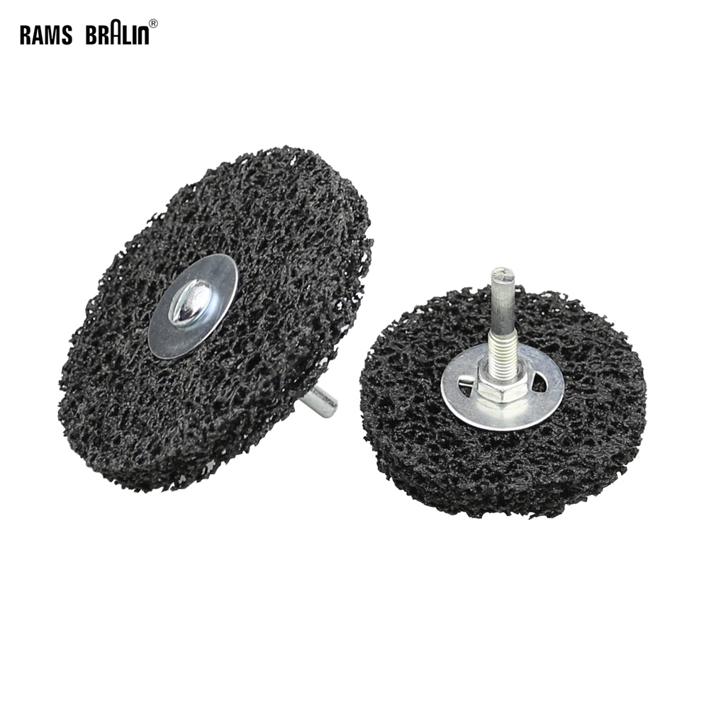 1 piece Drill Rust Removal Disc Paint Peeling Abrasive Wheel-in Abrasive Tools from Tools