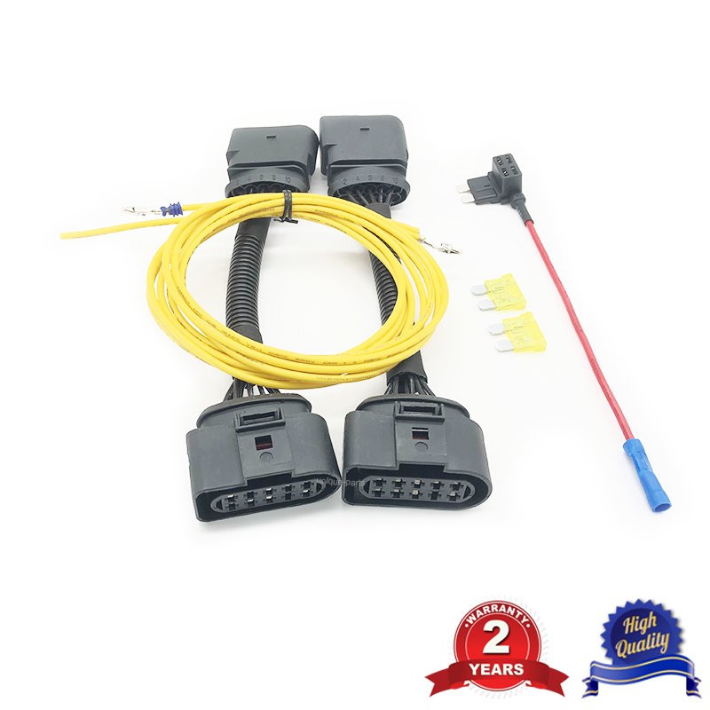 For VW Transporter T5 To T5.1 FaceLift Headlight Conversion Upgrade Adaptor Wiring Harness Connector