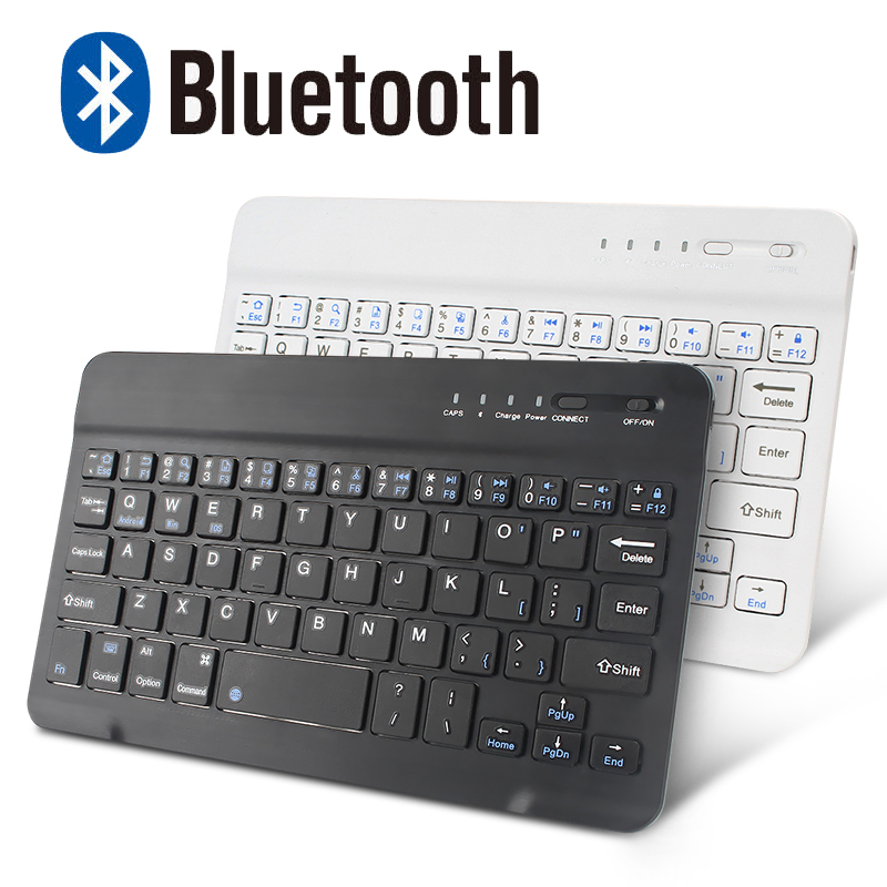 Wireless Bluetooth Keyboard Mini Keyboard for iPad Mac Tablet Laptop Phone Keyboard Rechargeable Support Andriod IOS Windows image