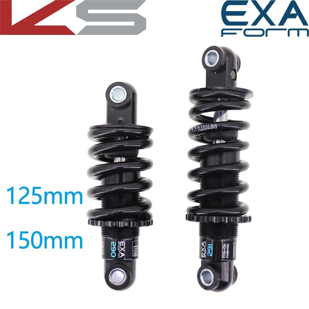 Задний амортизатор для велосипеда EXA Form 290 291, амортизаторы подвески, пружинный Kindshock, прочный велосипед для горного велосипеда, электроскуте...