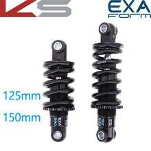 EXA Form-amortiguador trasero para bicicleta, suspensión de resorte contra choques Kindshock, duradero, para bicicleta de montaña, 290, 291, 125, 1000, 1250, lbs, 850
